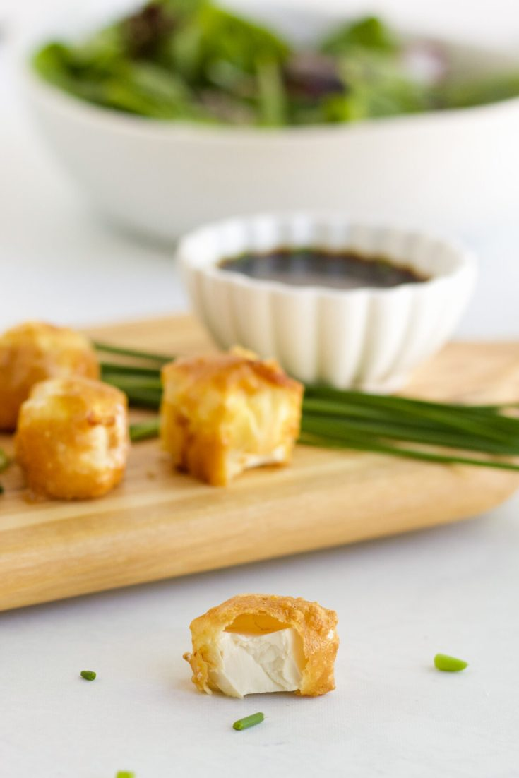 bite out of air fry tofu