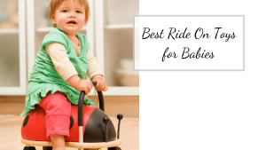 picture of baby on ride on toys for babies