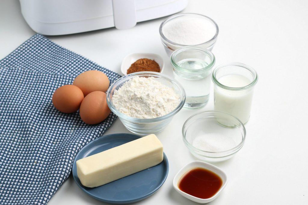 ingredient shot for air fryer churros