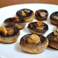 Fried Mushroom with Garlic and Oregano