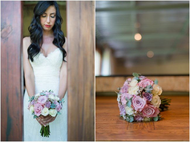 Dusty Pink & Violet Wedding At The Red Ivory Lodge By