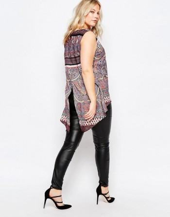leather leggings and tunic dress