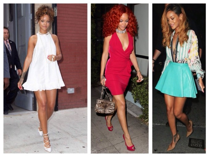 Images of Rihanna's dress