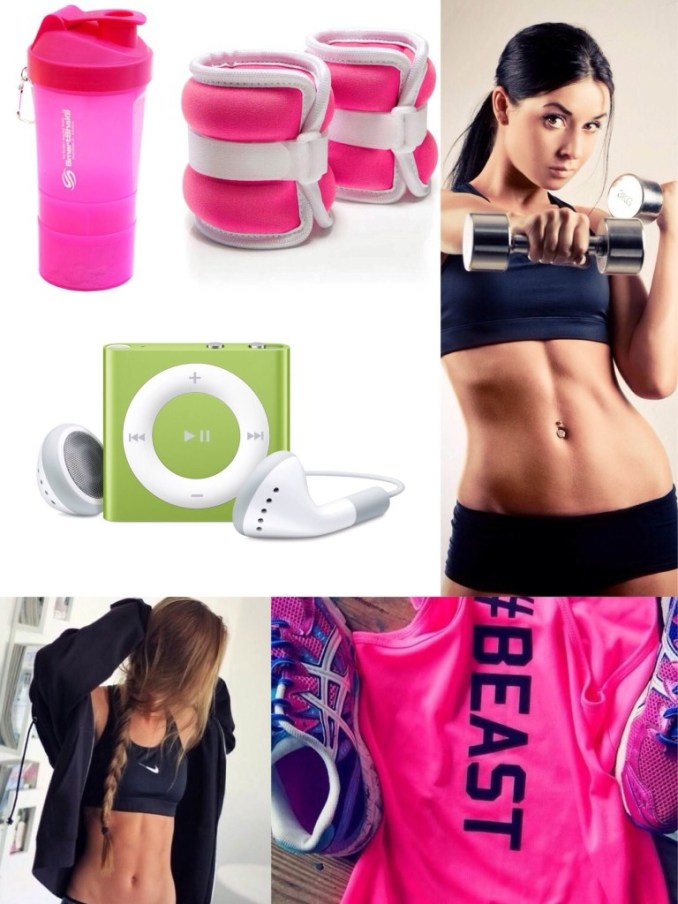 collage fitness