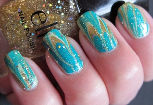 Fashionable manicure with sparkles and glitter: photos, the best ideas 18