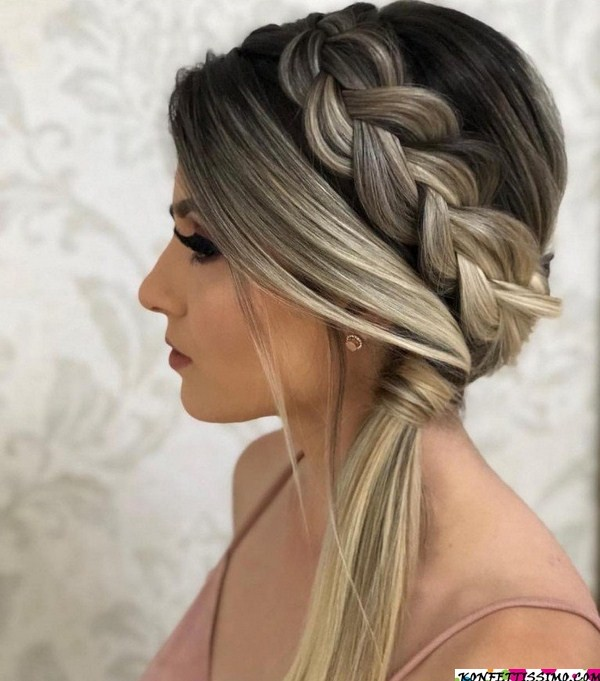 Amazing hairstyle options for the evening 16