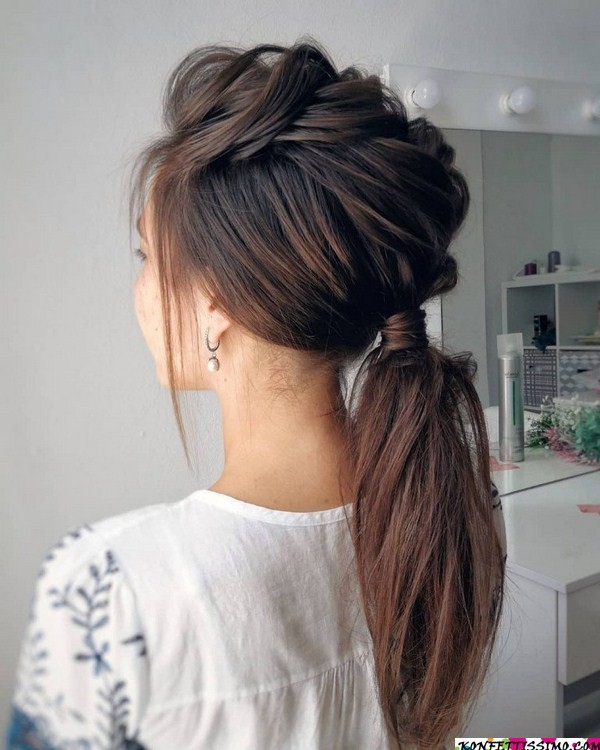 Amazing hairstyle options for the evening 17