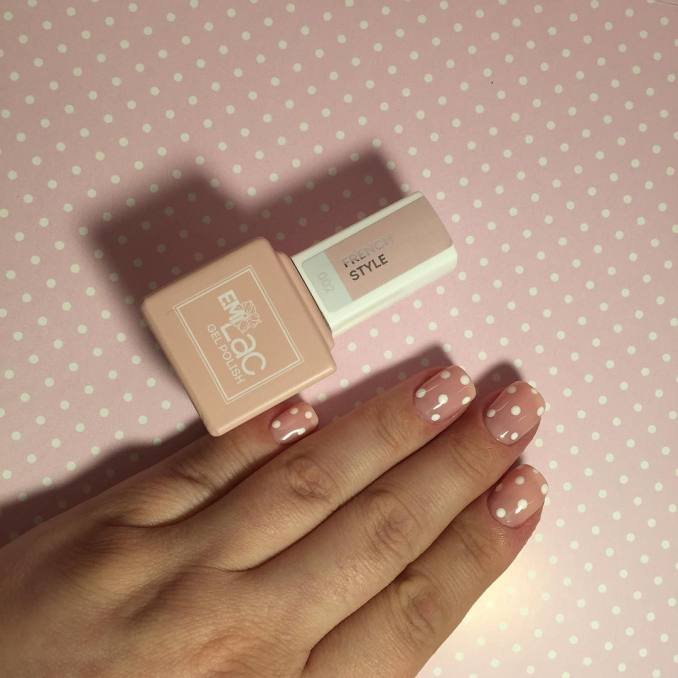Manicure with a print: options for design 15