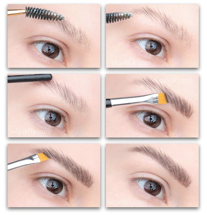 how to make soap eyebrows