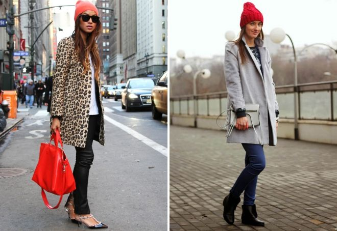 Red hat with a coat