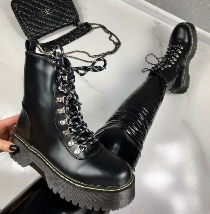 Fashionable warm and stylish winter shoes 2020 and 58 photos 45