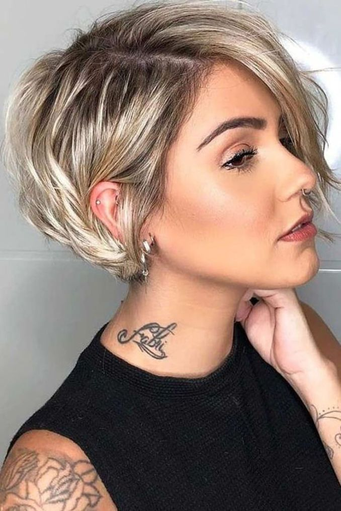 Trendy haircuts and hairstyles for short hair 2020 - 82 photos 3
