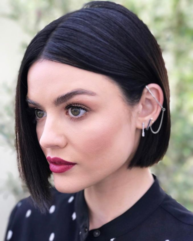 Trendy haircuts and hairstyles for short hair 2020 - 82 photos 9