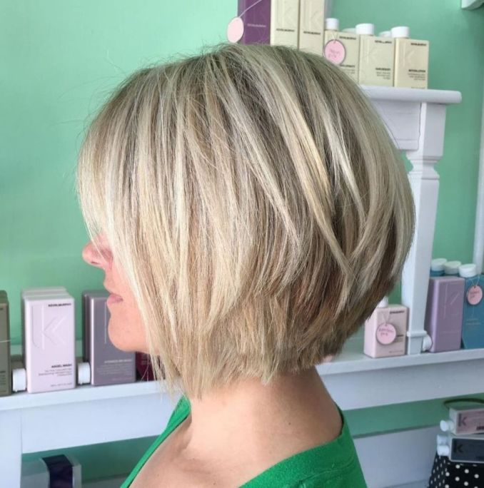 Trendy haircuts and hairstyles for short hair 2020 - 82 photos 45