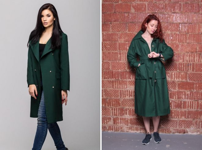 dark green cloak