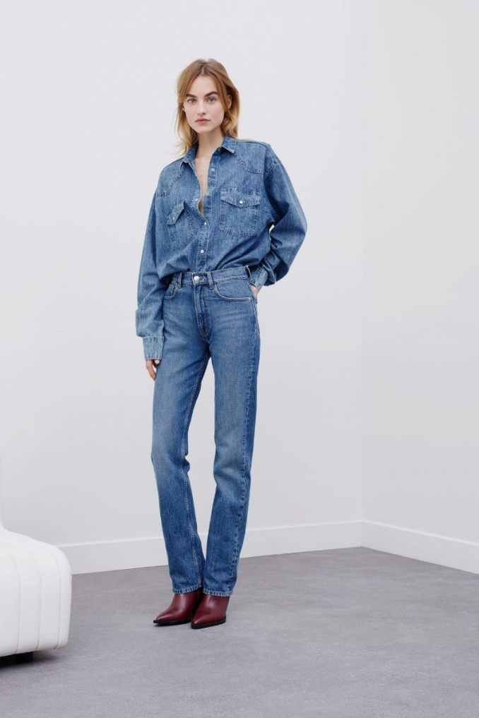 Fashionable jeans fall-winter 2020-2021 from the IRO collection