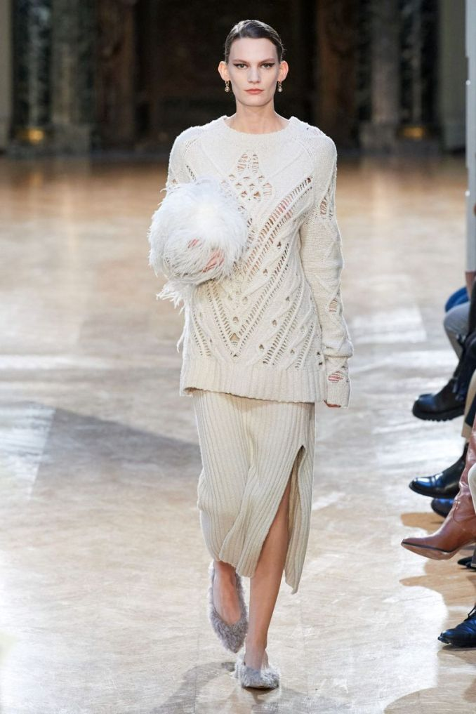 Fashionable knitted and crocheted skirts fall-winter 2020-2021 from the Altuzarra collection