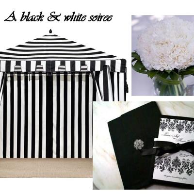 Party Inspiration…In Black and White