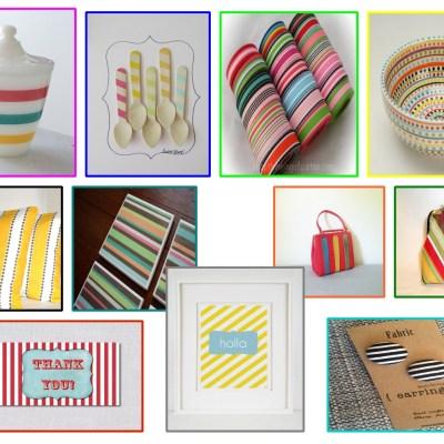 Best of Etsy:  Stripes