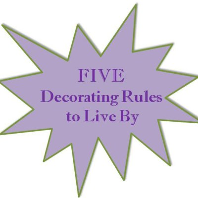 5 Decorating Rules I (almost) Never Break