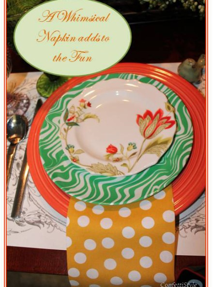 Spring Table Setting by ConfettiStyle3