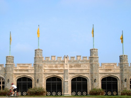 Hermance Stadium (entrance, view from the east), Oglethorpe University