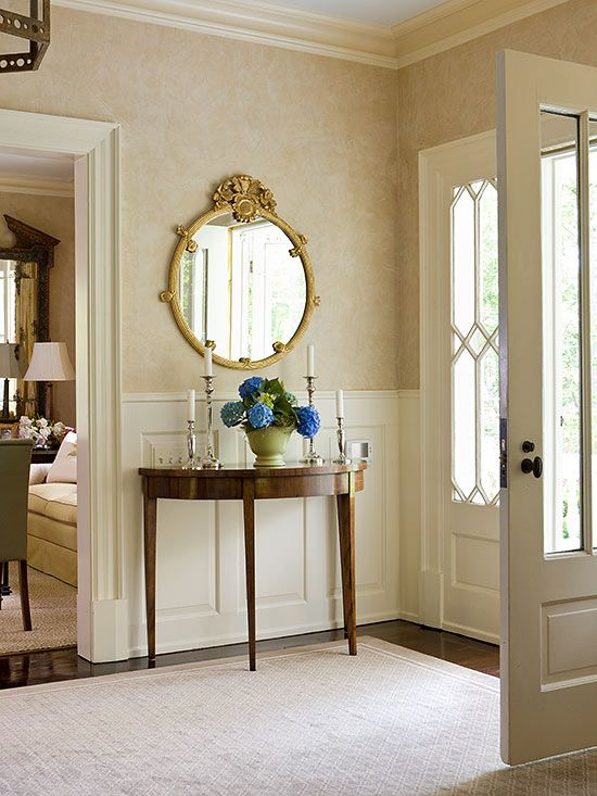 BHG Foyer · BHG. Other Places To Use Demilune Tables: