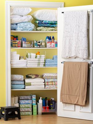 Anatomy Of A Linen Closet Organization And Style