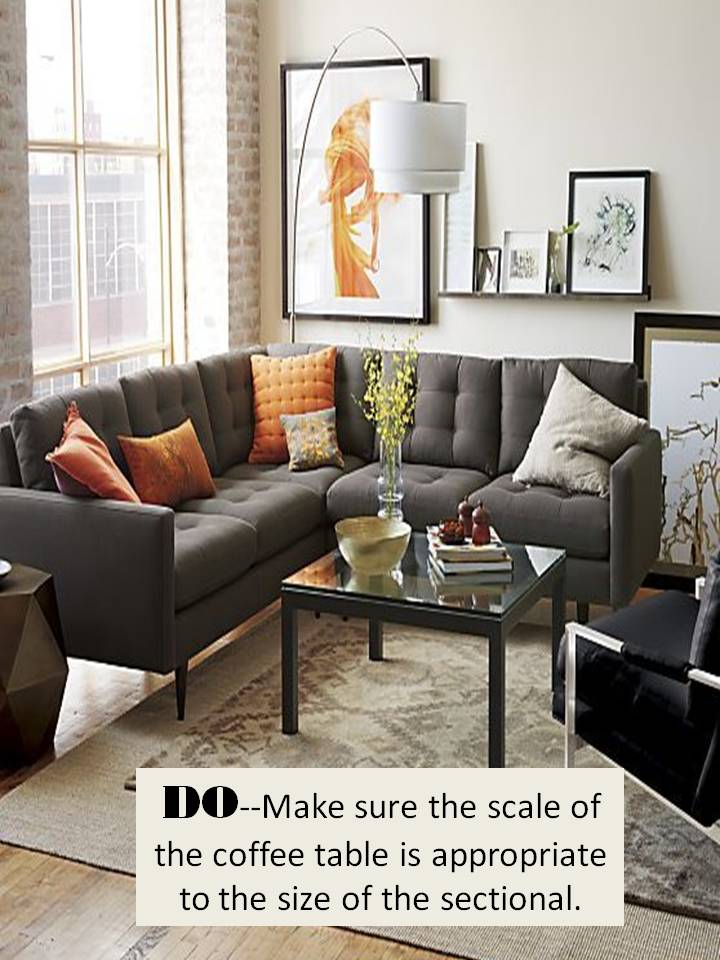 THE BEST WAY TO STYLE A SECTIONAL SOFA: