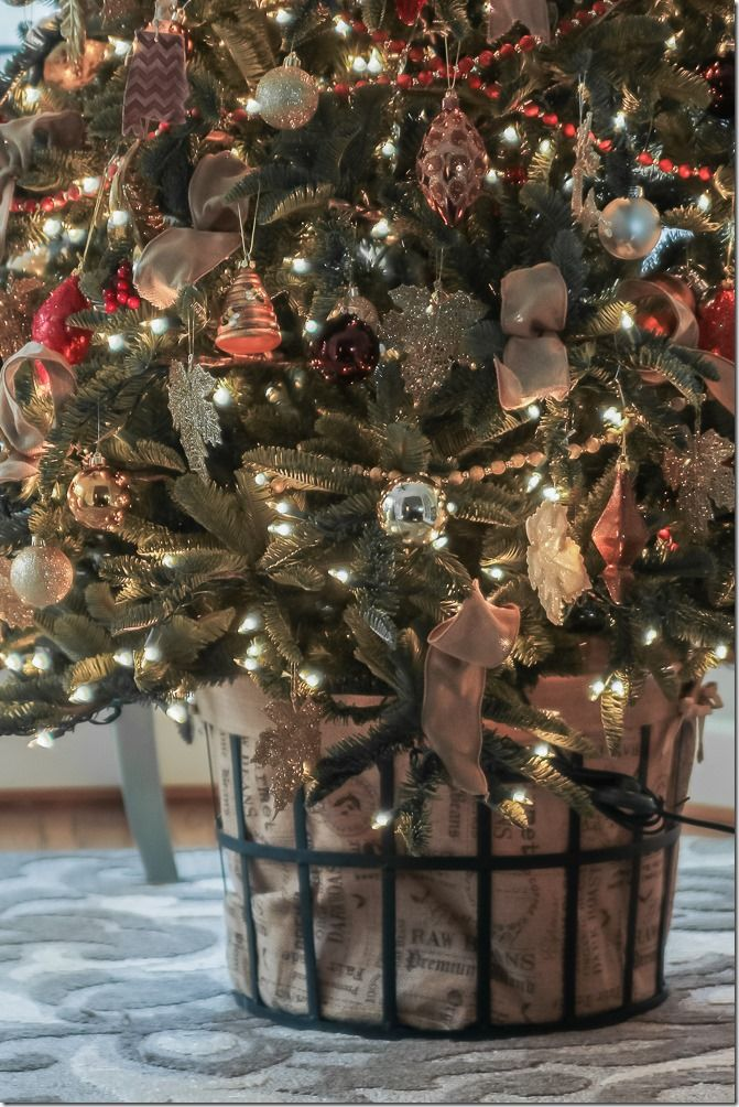 Christmas Trend Trees In A Basket Confettistyle
