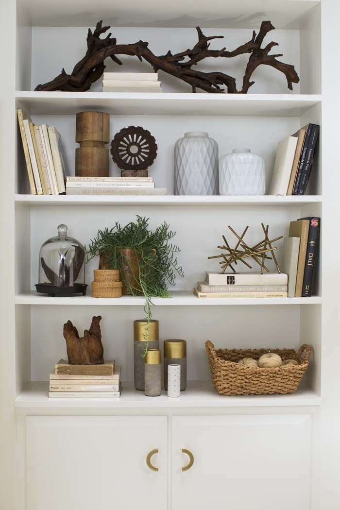 Five Ways To Style Your Bookcase Confettistyle