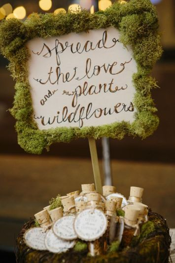 Garden Party Favors--Seed Tubes