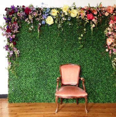 Garden Party Photo Booth via Brit & Co
