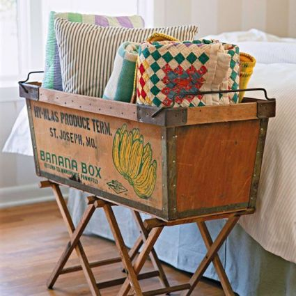 Camp Stool via BHG