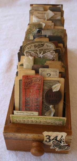 Vintage Sewing Drawer