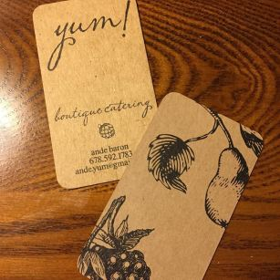 Yum Culinary Business Card