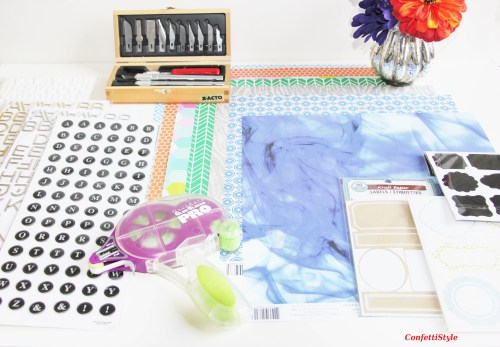 DIY Noteboooks by ConfettiStyle