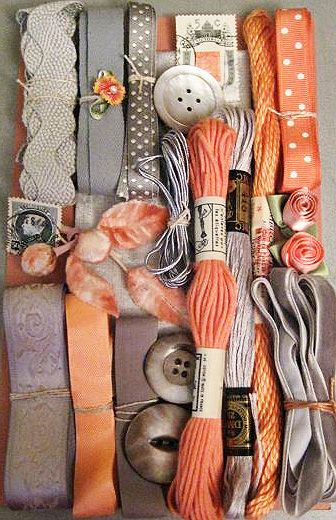 Orange and Grey via Dishfunctionaldesigns