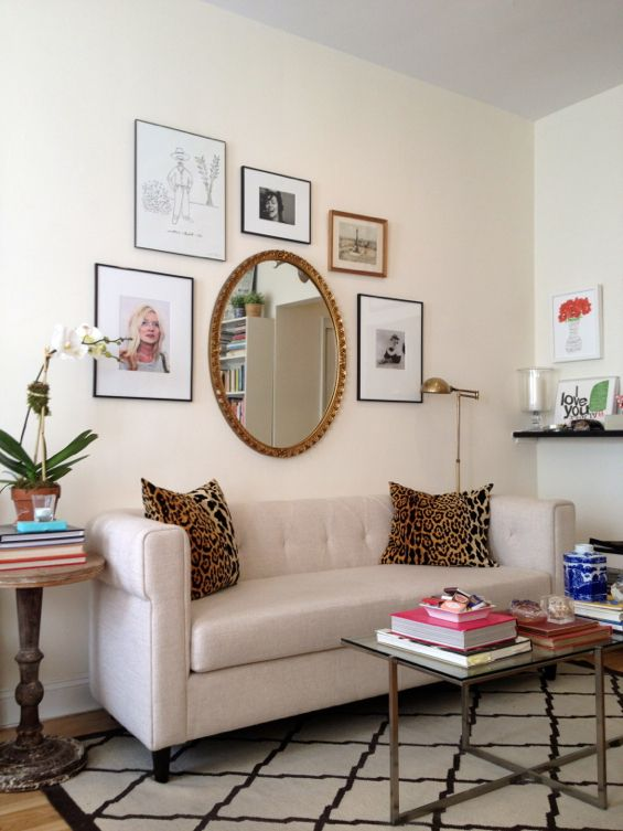 FIVE place where round mirrors are ideal! | ConfettiStyle