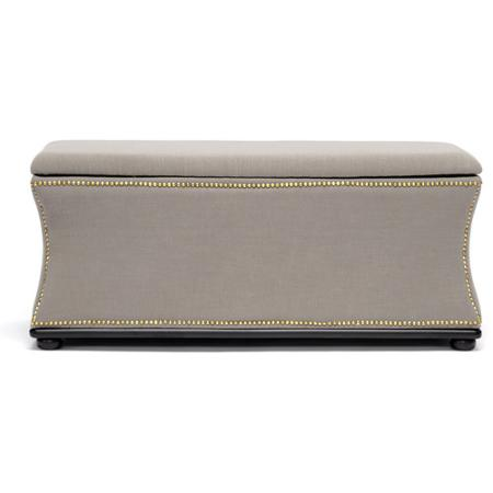 And another super chic storage ottoman is the Liverpool Linen Storage  Ottoman–$240.18 - 5 Decorative Items To Buy At Walmart! ConfettiStyle