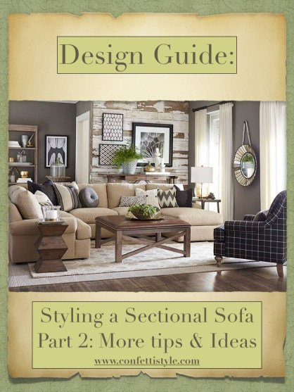 DESIGN GUIDES--Sectional Sofa Design Guide Part 2