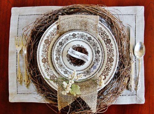 Thanksgiving Table via Thistlewood Farms