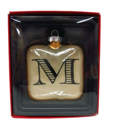 JoAnn Monogram Ornament