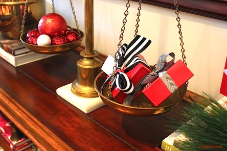 Scales of Justice Holiday Decor