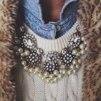 Statement Necklace Styling
