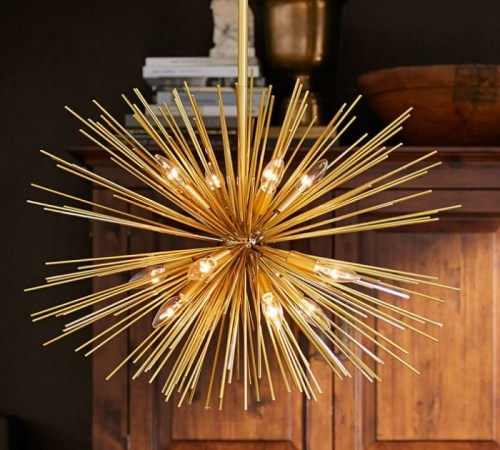 Pottery Barn Arden Chandelier: Not 10, But ELEVEN Home Decor Products I'm Loving In The