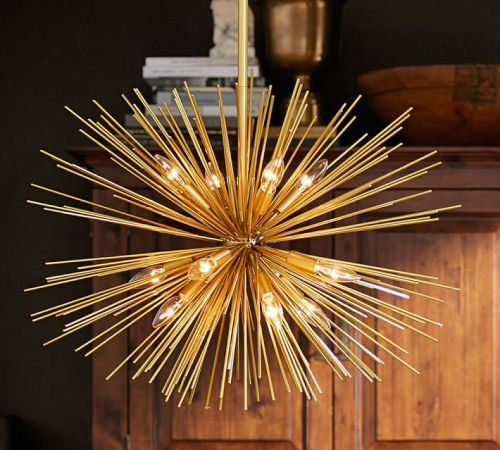 Explosion Chandelier--Pottery Barn