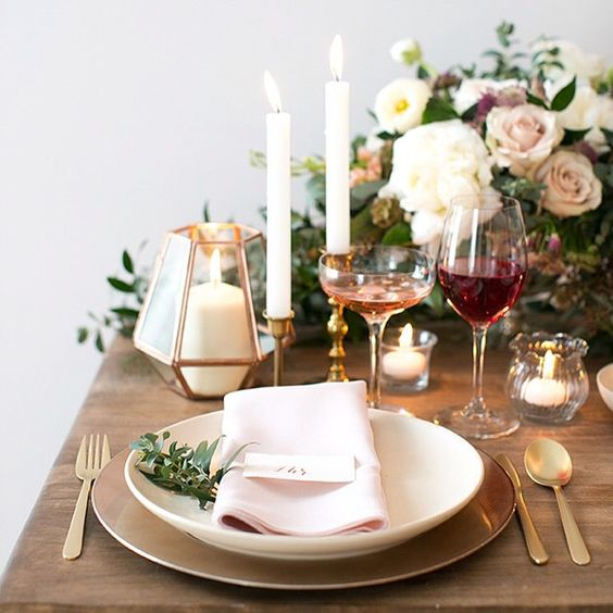 Get The Look: Valentine's Day Table Setting