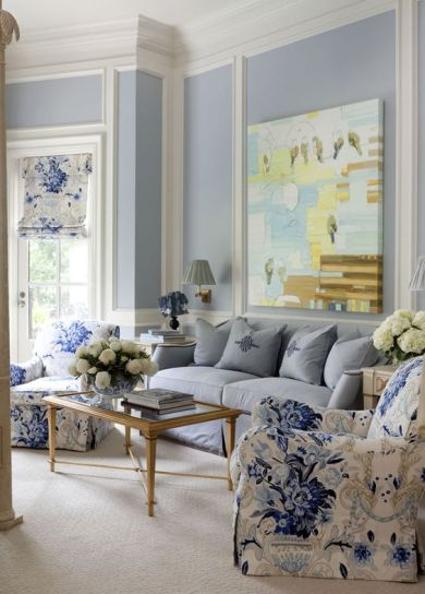 Blue and White Decor2
