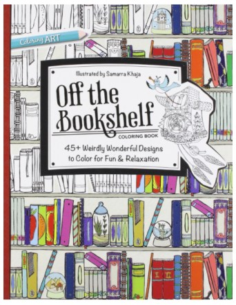 Off The Bookshelf--Cover Coloring Books